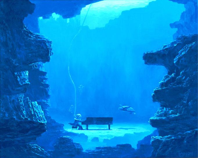 Music and sea  音楽と海 2008