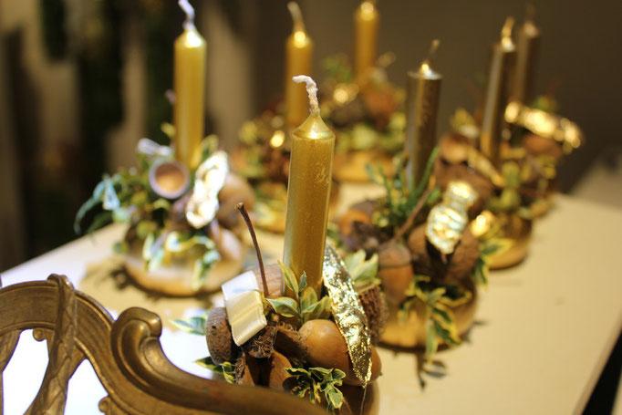 Adventsausstellung 'Goldnuss'  |  von Arx Blumen & Garten  |  2011