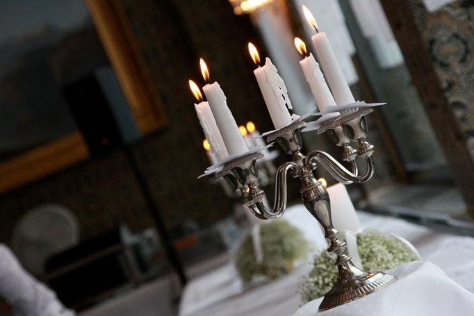 Tischdekoration Hochzeit     Seehotel Waldstätterhof     Brunnen