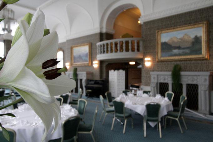 Dekoration Hochzeit     Seehotel Waldstätterhof     Brunnen