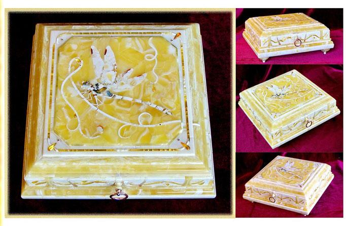 Шкатулка с флорентийской мозаикой. 2001