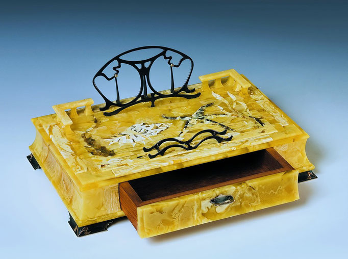 "Box for written instrument ""Marine"". 2007"