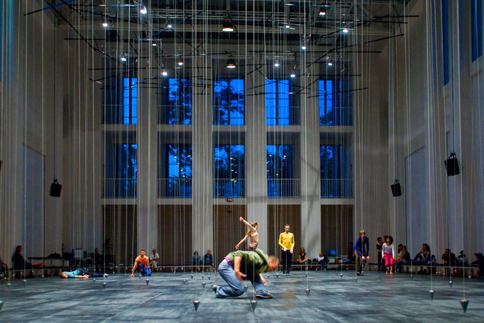 Nowhere and Everywhere at the Same Time - by William Forsythe; Festspielhaus Hellerau; photo: Sylvio Dittrich