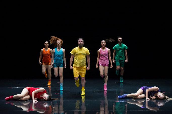 Aerobics! - Ein Ballett in 3 Akten - by Paula Rosloen; Théâtre des Abbesses; photo: Laurent Philippe