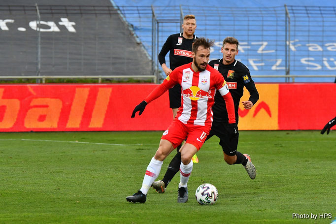 Auch Roman Kerschbaum konnte gegen Salzburgs Ulmer mit einer starken Partie überzeugen
