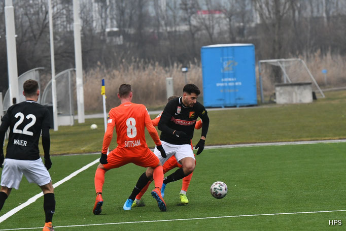 Gegen den SV Horn konnte auch Sinan Bakis wieder Akzente einbringen und das Spiel mitgestalten