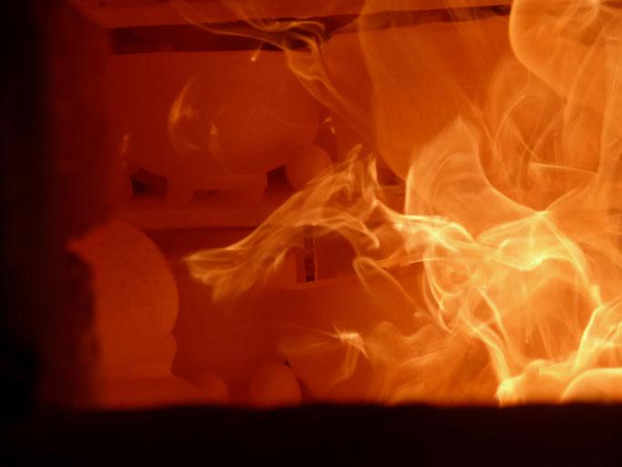窯焚き初日