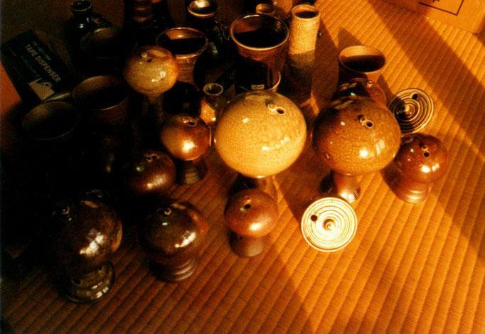 小林夢狂 MukyoKobayashi 陶器 夢一輪 あおい夢工房 炎と楽園のアート