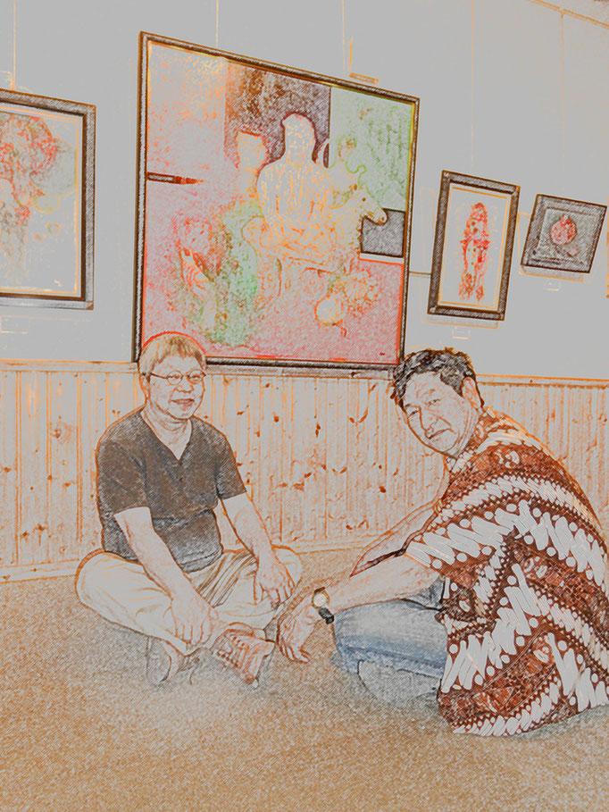 時遊人 佐藤進さんの展覧会でアートの出逢い…