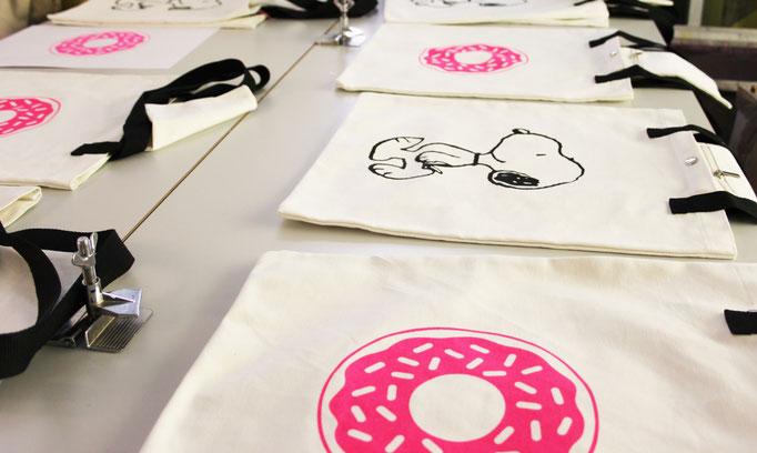 Siebdruck auf Canvas Taschen für Codello