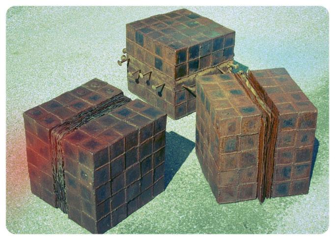 3 cubes 36 x 36 x 36 cm ° 2011