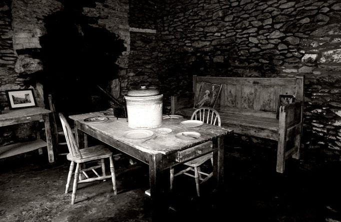 Wohnstube aus vergangener Zeit, Dingle Südküste