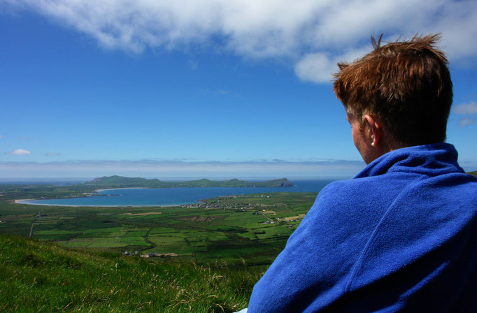 "Dingle - Blick auf Smerwick Harbour und ""The Three Sisters"""