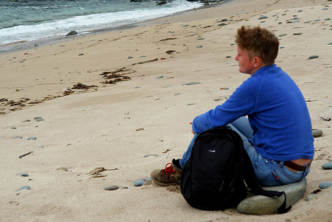 Entspannung am Clogher Strand