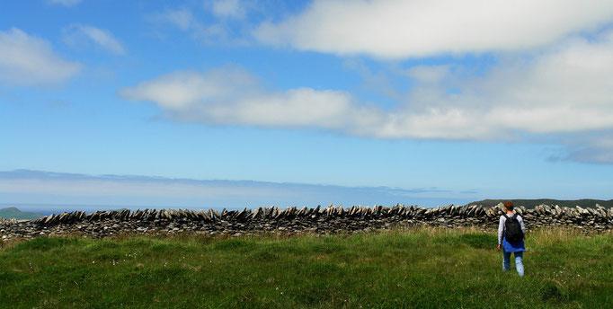 Auf den Hügeln oberhalb von Kilmalkedar