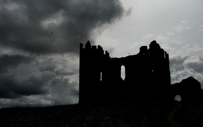 Ballycarbery Castle Ruin near Cahersiveen