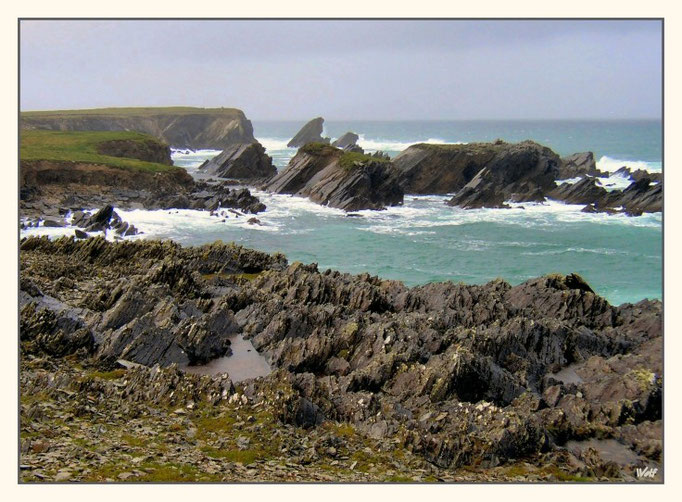 Dingle Peninsula, Coast near Clogher