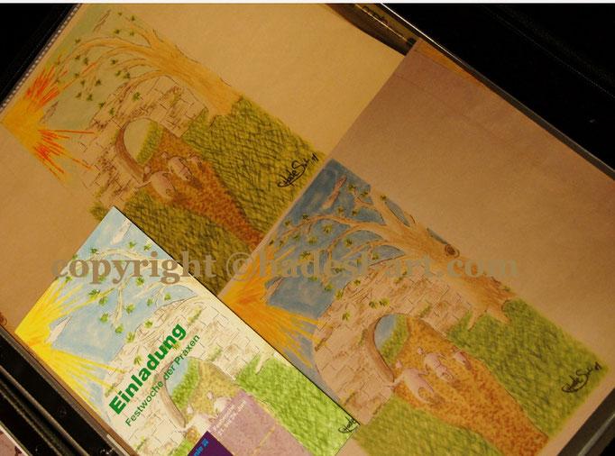 Flyer-Einladung für Ergotherapiepraxis 2011  verkauft