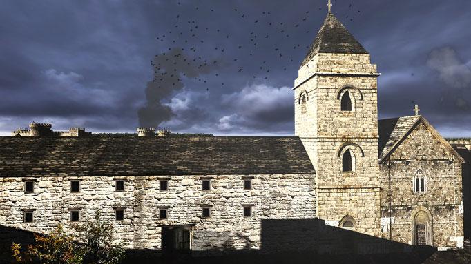 SCAPE3D_Inexpugnata terra: chiesa dell'Annunziata al 1421