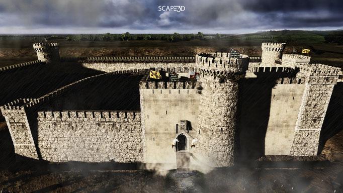 SCAPE3D_Inexpugnata terra: fortezza di Acerra