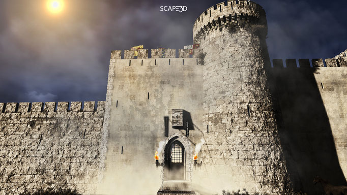 SCAPE3D_Inexpugnata terra: fortezza di Acerra, portale