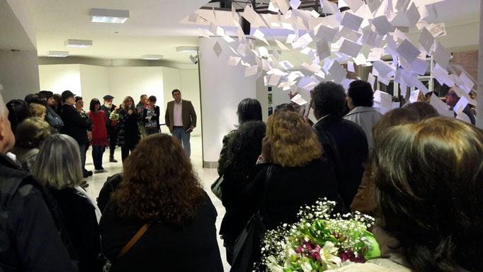 Inauguracion LATENTES del Tender en UNSAM