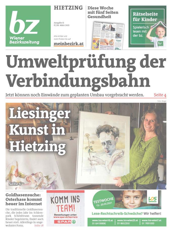 Bezirkszeitung Hietzing März 2021 Cover