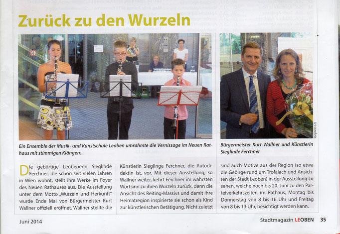 Stadtmagazin Leoben, Juni 2014