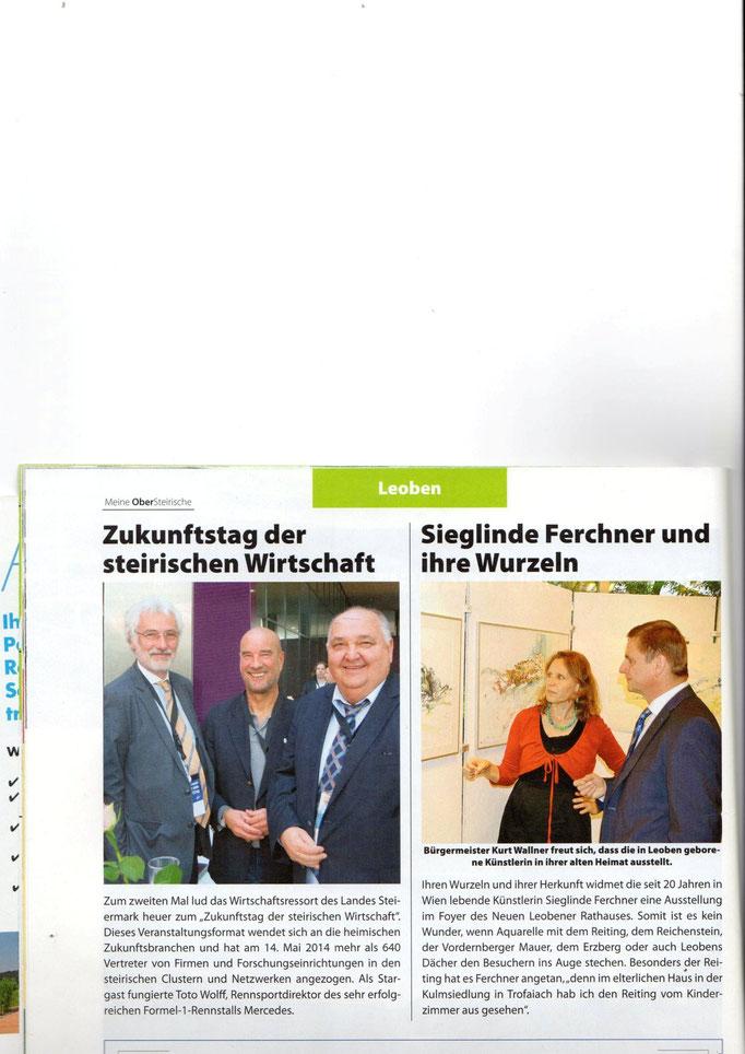 Obersteirische Zeitung, Mai 2014