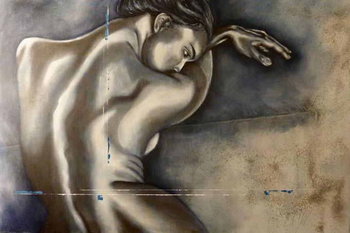 Nancy 120x80cm Huile sur toile