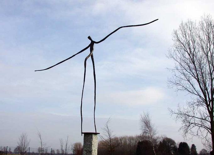 Metallobjetkt - Skulptur - Balance - Entwurf und Gestaltung Marc Wehmer