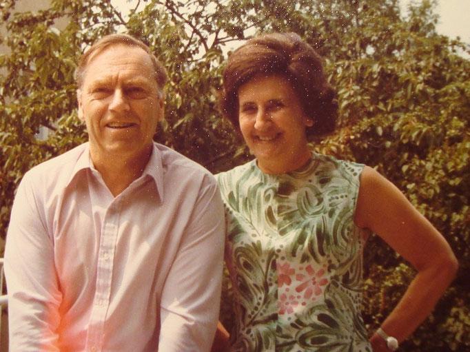 Traimer mit seiner Ehefrau Dr. Gertraude Traimer.