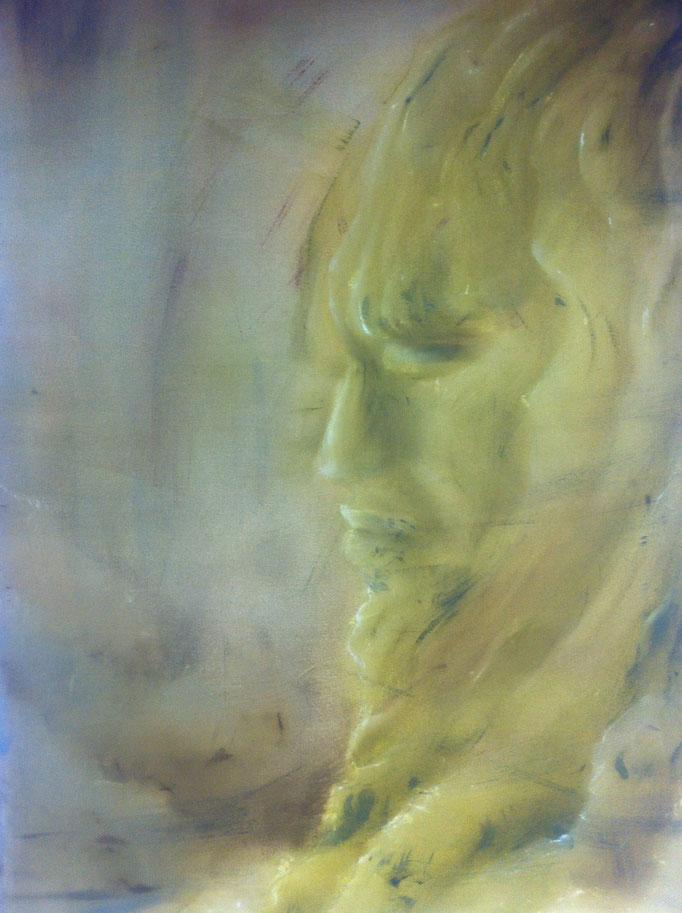 Selbstbildnis 2013 / 120x80 cm Acryl