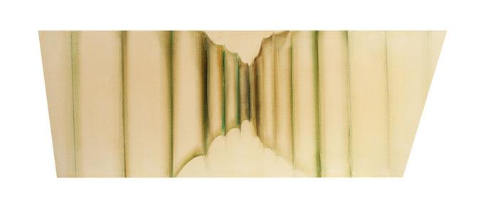 ,,Vorhang'' 2014 / 75x 130-160 cm Acryl