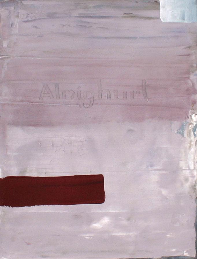 ,,Almighurt'' 2016 / 80x60 cm Acryl