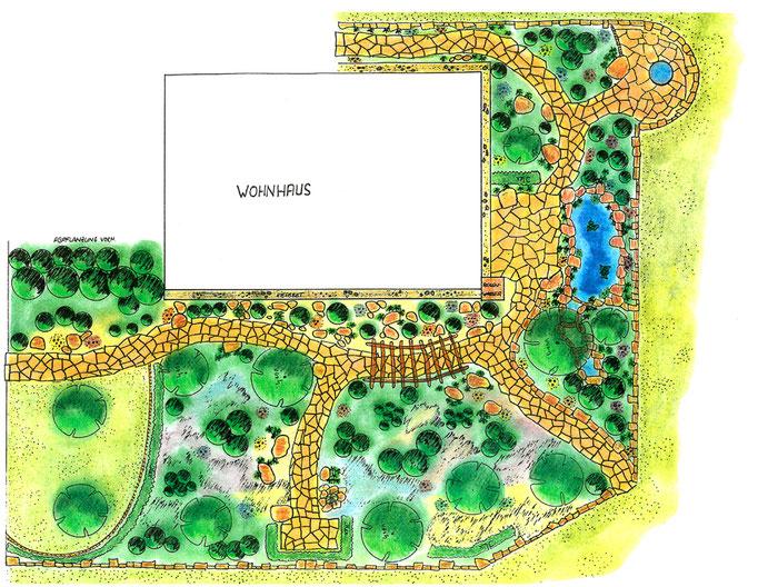 Gartenplanung GaLaBau Menzel