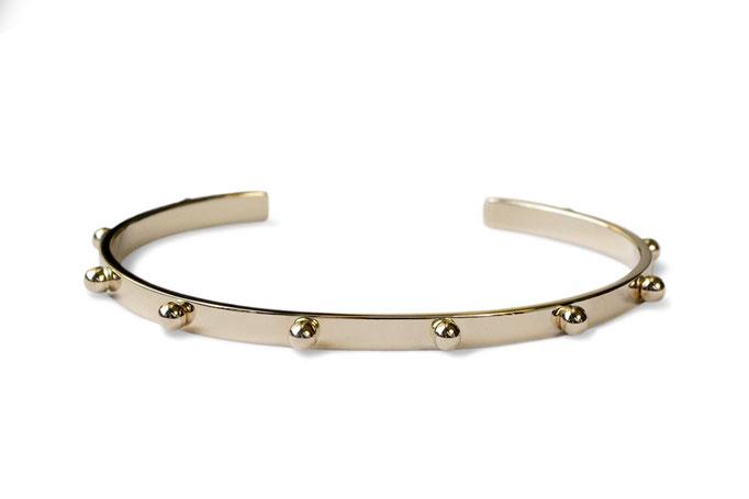 cuff bracelet - No:OKB-1 素材 K10YG S(16cm) ¥200.000- / M(18cm) ¥261.250-