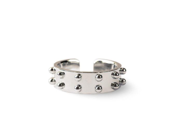 thick ring - No:OKR-3 素材 K10WG ¥183.700-