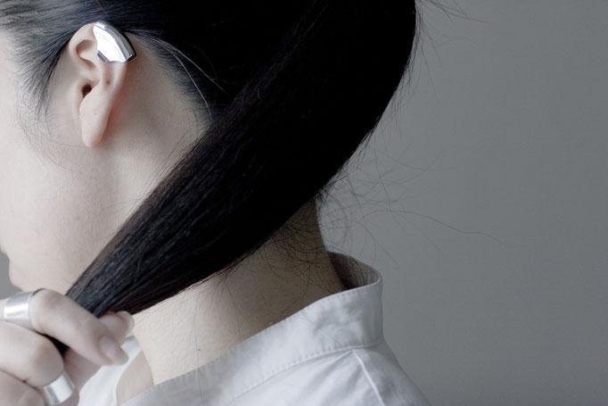 skin ring & earcuff sv925