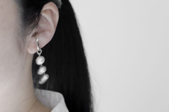 earparts k10wg with a charm k10wg x akoya pearl