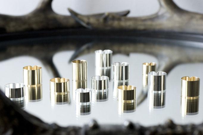 skin ring - No:OR-4(High)  素材 SV925 & BRASS ¥11.000 / No:OR-5(Low)  素材 SV925 & BRASS ¥11.000