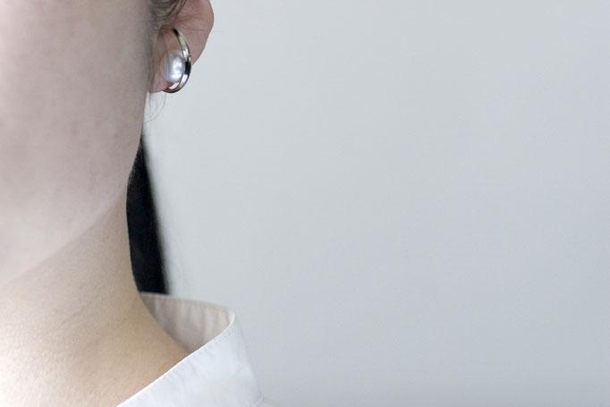 pearl earparts  k10wg x southseas pearl