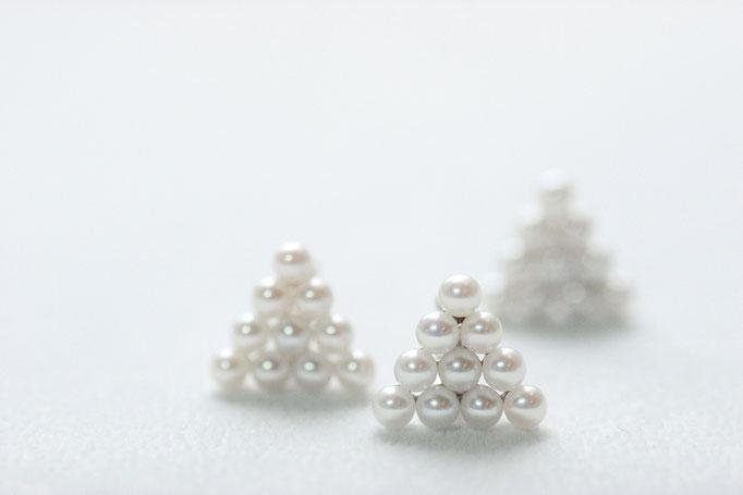 triliant earcuff k10yg x freshwater pearl  ¥27,550