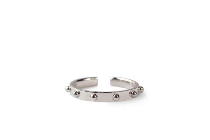 thin ring -  No:OKR-1 素材 K10WG ¥75.900-