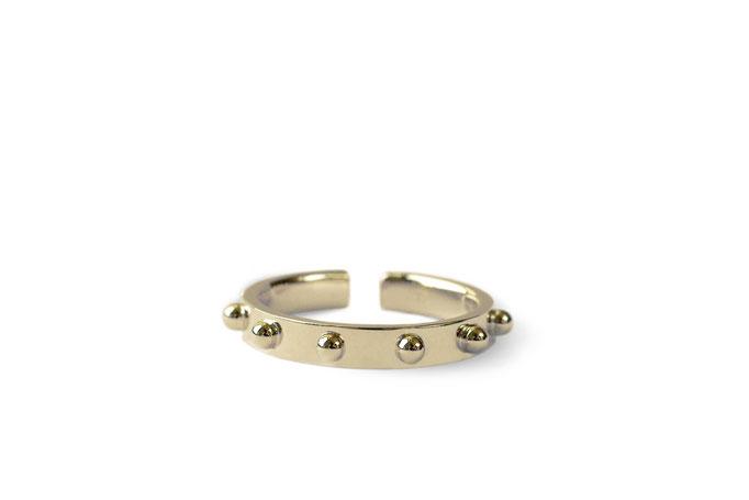 medium ring -   No:OKR-2 素材 K18YG ¥112.500-
