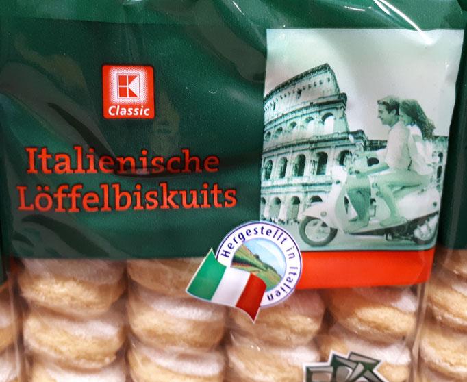 Okay, bei italienischen Keksen seh ich den Zusammenhang.