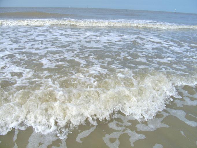 Meeresrauschen... für mich Entspannung pur, obwohl ich kein guter Schwimmer bin.