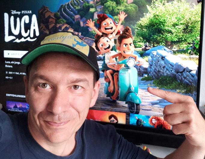 Disney-Entspannung. Ein toller Vespa-Werbefilm!