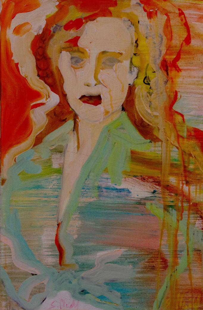 Stephanie Nückel    Sand    Acryl /Leinwand   60 x 40 cm    2017