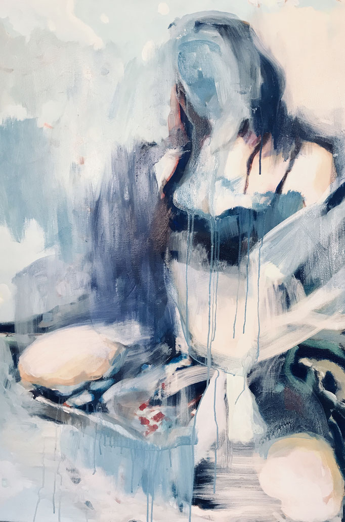 Stephanie Nückel   Gone    130 x 90 cm   Acryl auf Leinwand    2019